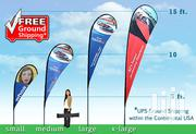 Tear Drop Banners | Cleaning Services for sale in Nairobi, Nairobi Central
