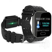 Smart Bracelet Smart Watch Bracelet With Heart Rate - Black | Smart Watches & Trackers for sale in Nairobi, Nairobi Central