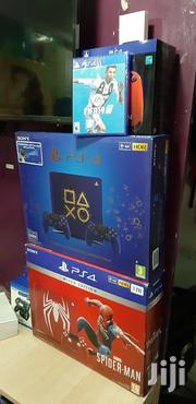 Blue Ps4 Slim 500gb With Two Pads Days Of Play Limited Edition | Video Game Consoles for sale in Nairobi, Nairobi Central