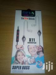 Brand-new Antiradition Earphone With Selfie Stick Function | Accessories for Mobile Phones & Tablets for sale in Nakuru, London