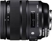 Sigma 24-70mm F 2.8 Art | Cameras, Video Cameras & Accessories for sale in Nairobi, Nairobi Central
