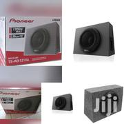 1300W MAX SINGLE 12 SEALED SUBWOOFER ENCLOSURE WITH BUILT-IN AMPLIFIE"