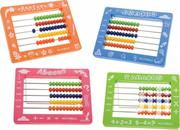 Abacus Plastic 15x11.5 Cm With 50 Beads With Metal Stand | Toys for sale in Nairobi, Nairobi Central