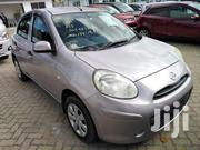 New Nissan March 2012 Silver   Cars for sale in Mombasa, Bofu