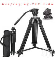 Weifeng WF-717 1.8m Professional Video Tripod   Cameras, Video Cameras & Accessories for sale in Nairobi, Nairobi Central