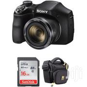 Sony DSC H300 Digital Camera With Free Accessory Kit Black | Cameras, Video Cameras & Accessories for sale in Nairobi, Nairobi Central