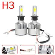 H3 COB LED Vehicle Headlight Bulb Kit 6000K White 200W 20000LM Toyota | Vehicle Parts & Accessories for sale in Nairobi, Nairobi Central