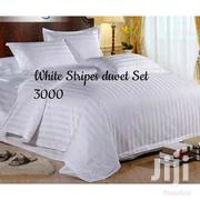 Stripes White Duvet | Home Accessories for sale in Mombasa, Majengo