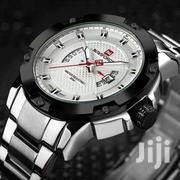 Unique 909 Sliver SBRR NAVIFORCE Quartz Watch On | Watches for sale in Nairobi, Nairobi Central