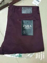Zara Men's Tailored Fit Chino Trousers | Clothing for sale in Nairobi, Nairobi Central