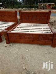 6by 6 Pure Mahogany Bed | Furniture for sale in Nairobi, Ngando