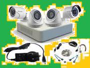 Hikvision 4ch Turbo HD DVR Dome Bullet Camera | Cameras, Video Cameras & Accessories for sale in Nairobi, Nairobi Central