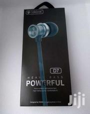 Celebrat D7 Sound Metal Bass In-ear Stereo Earphones With Mic | Accessories for Mobile Phones & Tablets for sale in Nairobi, Nairobi Central