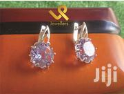 Purple Amethyst Ladies Genuine Silver Wedding Studs Earrings | Jewelry for sale in Nairobi, Nairobi Central