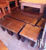 Coffee Table With 4 Stools | Furniture for sale in Kisumu, Market Milimani