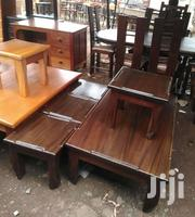Coffee Table With 4 Stools   Furniture for sale in Nairobi, Parklands/Highridge