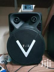 "Powered Trolley Speaker 15"" With 2 Wireless Microphones 