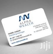Business Cards Design And Printing | Other Services for sale in Nairobi, Nairobi Central