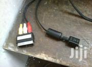 SONY PLAYSTATION AV CABLE  - | Video Game Consoles for sale in Kiambu, Murera