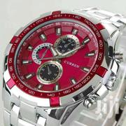 Stainless Case Quartz Movement Curren Red 8023 | Watches for sale in Nairobi, Nairobi Central