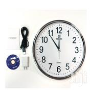Wifi Spy Wall Clock Wireless Hidden HD Video Recording Camera | Home Accessories for sale in Nairobi, Nairobi Central