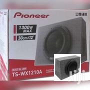 PIONEER TS-WX1210A 1300 W 12 AMPLIFIED SHALLOW TRUCK SUBWOOFER BOX EN"