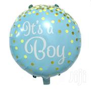 Its A Boy/Girl 18 Inch  Foil Balloon For Baby Shower   Home Accessories for sale in Kiambu, Uthiru