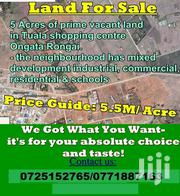 5 Acres for Sale at Ongata Rongai, in Tuala Shopping Centre | Land & Plots For Sale for sale in Kajiado, Oloosirkon/Sholinke