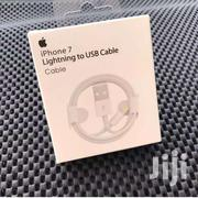 Original OEM Apple iPhone 7 Lightning Cable 1M | Accessories for Mobile Phones & Tablets for sale in Nairobi, Nairobi Central