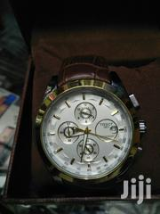 Tissot Swiss Leather Chronograph Watch | Watches for sale in Nairobi, Nairobi Central