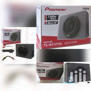 NEW PIONEER TS-WX1210A 12 CAR AUDIO AMPLIFIED SHALLOW TRUCK ENCLOSURE"