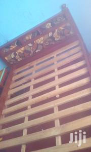 Strong 4 by 6 Wooden Bed. | Furniture for sale in Kiambu, Juja