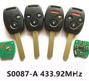 Complete Remote Key For Honda Accord HRV Fit Jazz Odyssey Civic | Vehicle Parts & Accessories for sale in Nairobi, Nairobi Central