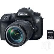Canon EOS 7D Mark Ii DSLR Camera With 18 135mm F/3.5 5.6 Is Usm Lens | Photo & Video Cameras for sale in Nairobi, Nairobi Central