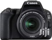 Canon EOS 200D 24.4MP Wi-Fi Digital Camera + EF-S 18-55 Mm III Lens | Cameras, Video Cameras & Accessories for sale in Nairobi, Nairobi Central