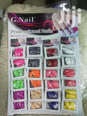 G Nails - Coloured, Plain, Tips Stick On's