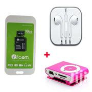 Mp3 Player Plus Earphone And 16gb Memory Card   Audio & Music Equipment for sale in Nairobi, Nairobi Central