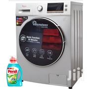 Front Load Fully Automatic 8kg Washer, 6kg Dryer, Silver - Rw/146 | Home Appliances for sale in Nairobi, Nairobi Central