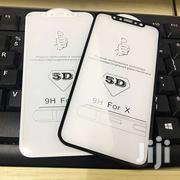 Apple iPhone X 10 5D Full Tempered Glass Curved 9h HD Screen Protector | Accessories for Mobile Phones & Tablets for sale in Nairobi, Nairobi Central