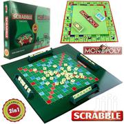 Scrabble + Monopoly 2 in 1 Family Party Board Children Game Education | Toys for sale in Nairobi, Nairobi Central