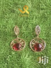 Red Garnet Ladies Genuine Silver Drop Earrings | Jewelry for sale in Nairobi, Nairobi Central