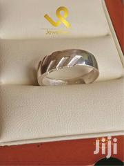 Serrated Edge Genuine Silver Wedding Ring Bands | Jewelry for sale in Nairobi, Nairobi Central