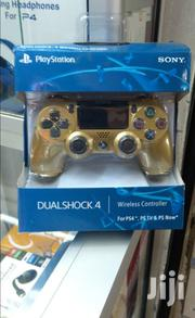 Gold Ps 4 Pads Sony | Video Game Consoles for sale in Nairobi, Nairobi Central