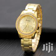 Geneva Luxury Rhinestone Ladies Stainless Steel Watches | Watches for sale in Nairobi, Kilimani