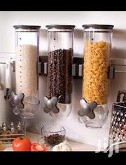 3 Containers Wall Mount Cereal Dispenser | TV & DVD Equipment for sale in Nairobi, Nairobi Central