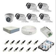 Hikvision HD 5 Bullets 1 Dome Complete CCTV Cameras System Kit | Cameras, Video Cameras & Accessories for sale in Nairobi, Nairobi Central