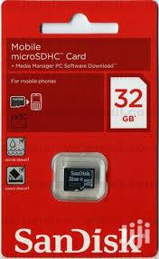 Sandisk 32GB Memory Cards | Accessories for Mobile Phones & Tablets for sale in Nairobi, Nairobi Central