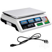 Kitchen Electronic Computing Digital Scales Weight 40kgs White Busines | Store Equipment for sale in Nairobi, Nairobi Central