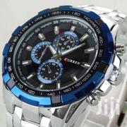 Sky Blue Sliver Curren Watch 8023 | Watches for sale in Nairobi, Nairobi Central