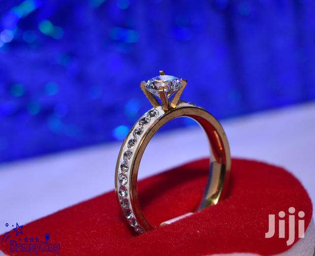 Archive: Stainless Steel CZ Stone Wedding/Engagement/Proposal/Anniversary Rings